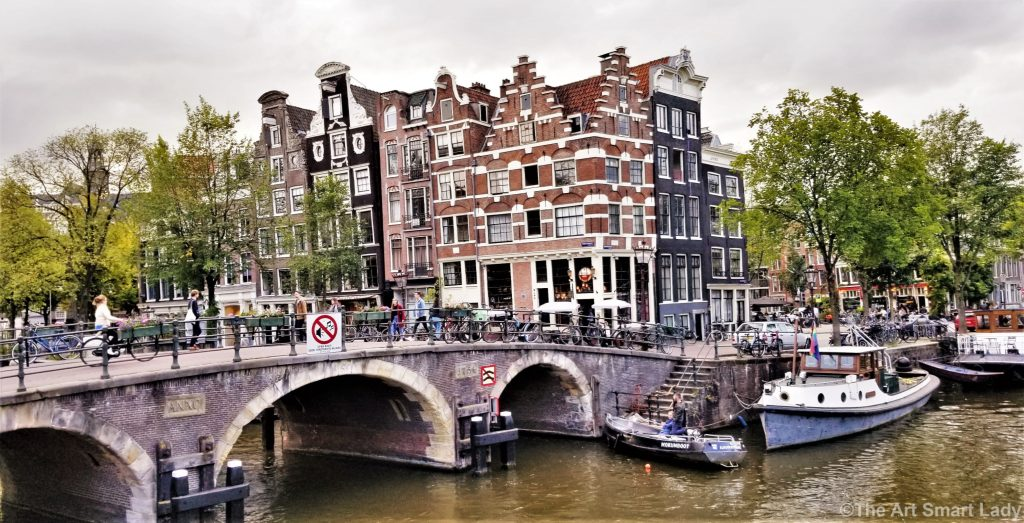 The Art Smart Lady in Amsterdam