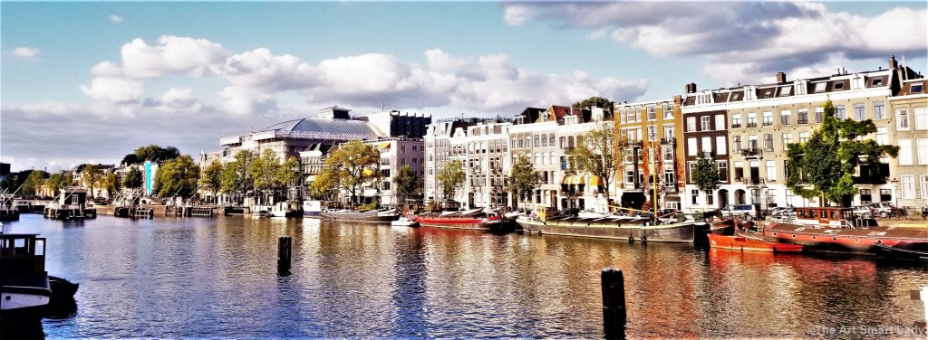 The Art Smart Lady - Amsterdam artistic view